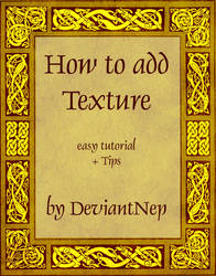 HOW TO ADD TEXTURE by DeviantNep