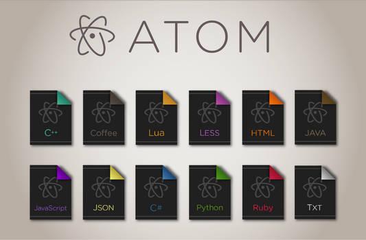 Atom File Icons