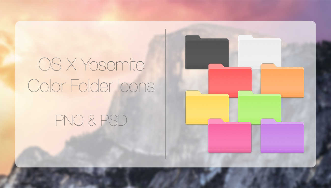 how to change colors of filder on mac