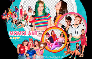 PACK PNG #25 // MOMOLAND |FUN TO THE WORLD| by Lisethh