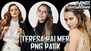 Teresa Palmer PNG Pack