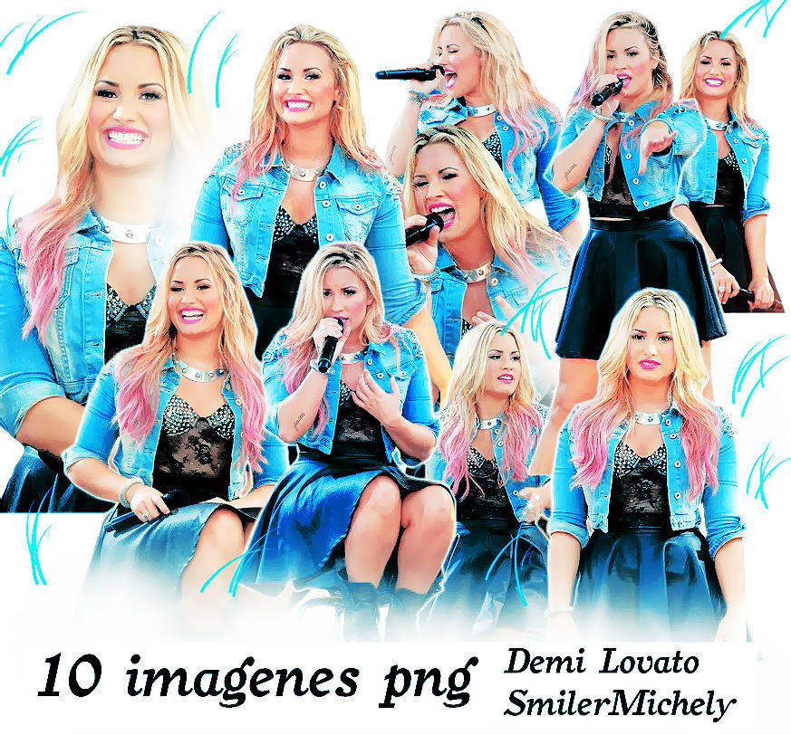 Pack 012 Demi Lovato Pack png by SMILERMICHELY