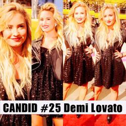 Candid #25 Demi Lovato