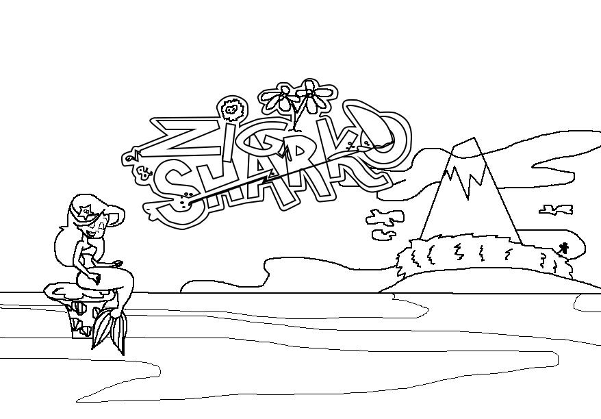 My storyboard pdf project zig and sharko intro by magic for Disegni da colorare zig e sharko