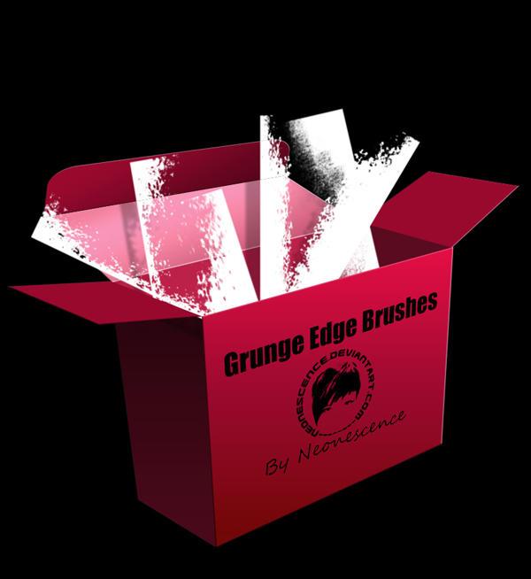 Grunge Edge Brushes by Neonescence