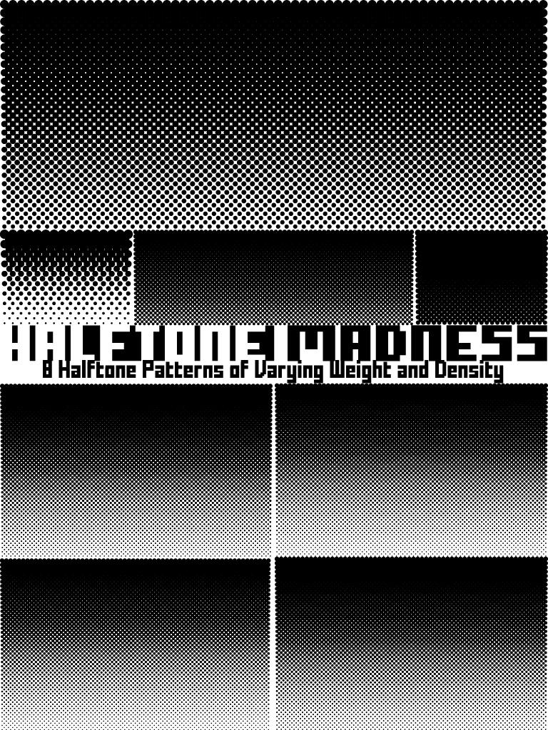 halftone madness