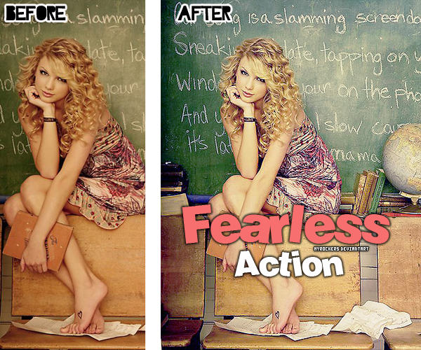 FearlessAction by MyRockers
