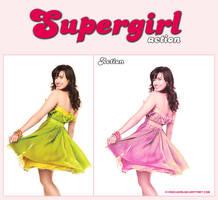 SupergirlAction by MyRockers