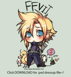 FFVII: Cloud and dressups