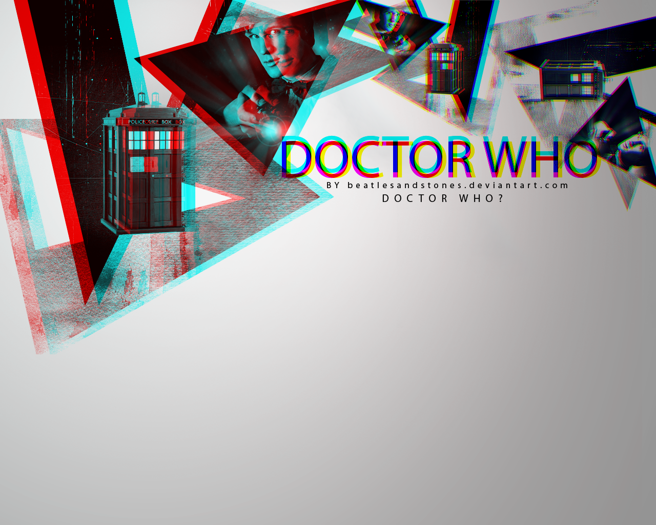 Doctor Who Wallpaper by BeatlesAndStones