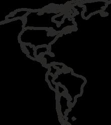 Latina Map Vector