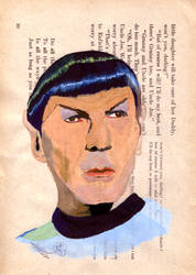 Toying With Tempera: Spock