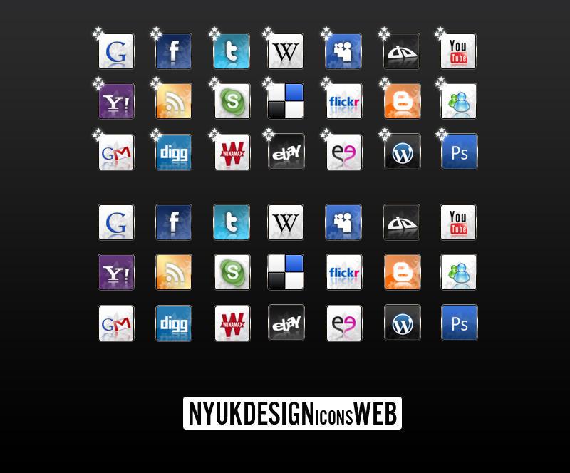 Web Icons by NyukDesign by nyukdesign