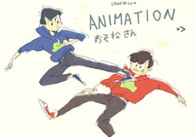Osomatsu vs Karamatsu animation - part 1/2 by LaWeyD