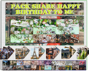 [20190214] PACK SHARE HAPPY BIRTHDAY TO ME by Rycucheo