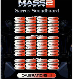 Mass Effect 2: Garrus Soundboard