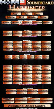 Mass Effect 2: Harbinger Soundboard