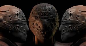 Obj IRON helmet