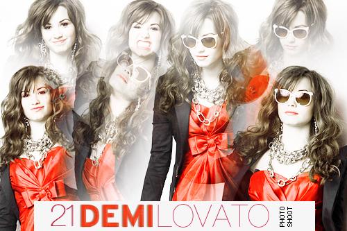 Photoshoot Demi Lovato by cherrykeeh