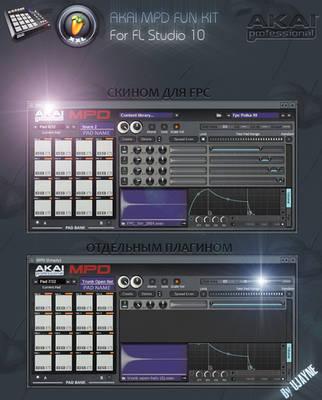 FPC Skin for FL Studio by Dizntart