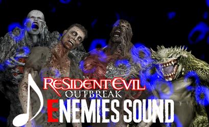 Resident Evil Outbreak: Enemies Sound