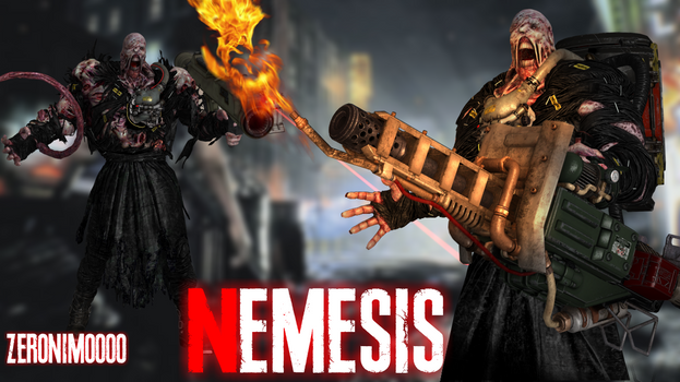 Nemesis First Form XPS By Zeronimo000