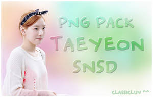 Taeyeon (SNSD) PNG Pack