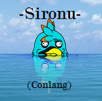 The Sironu Alphabet (updated) by SonarSnow
