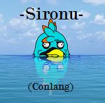 The Sironu Alphabet (updated) by SonarSnow