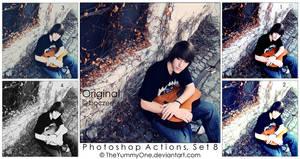 Photoshop Actions, Set 8