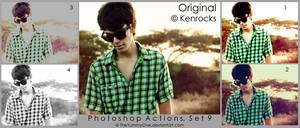 Photoshop Actions, Set 9