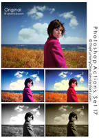 Photoshop Actions, Set 18 by TheYummyOne