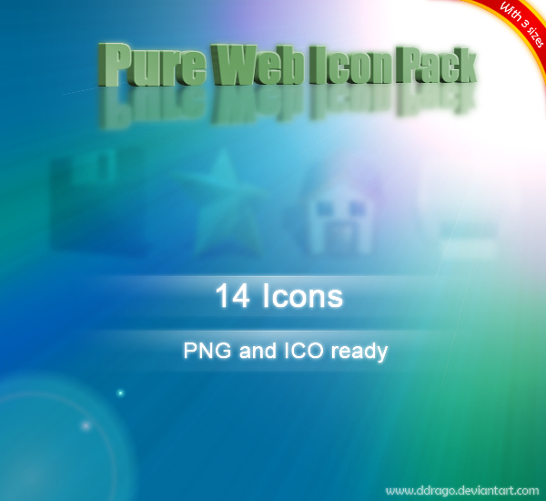 Pure Web Icon Pack