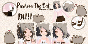 MMD - Pusheen The Cat - Human - DL!!!