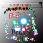 sun GIMP animated brushes