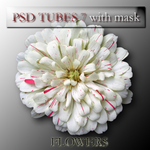 psd flower 7 with mask