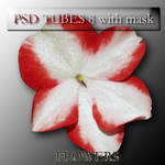 psd flowers 8 with mask