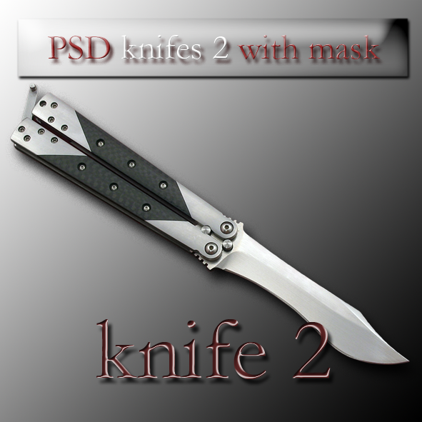 PSD knifes 2 with mask