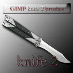 GIMP knife 2 brushes