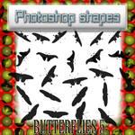 butterflies 5 shapes