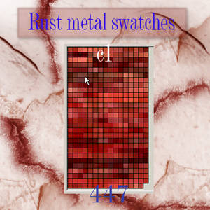 metal rust swatches c1