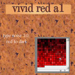 vivid red type noise 50 red