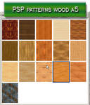 psp patterns wood a5
