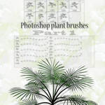 photoshop plant brushes part 1