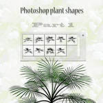 photoshop plant shapes part1