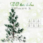 GIMP tree tubes part 1
