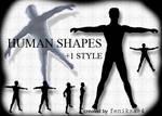 photoshop human shapes part1