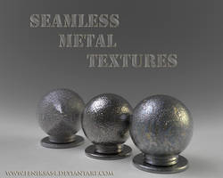 Seamless Metal Textures by feniksas4
