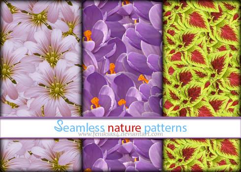 Seamless Nature Patterns