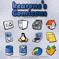 kearone's Comicons by kearone